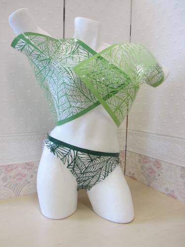 Groene Lingerie